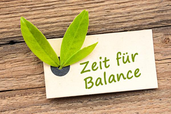 Zeit für Balance